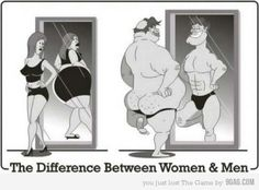 Difference between women and men