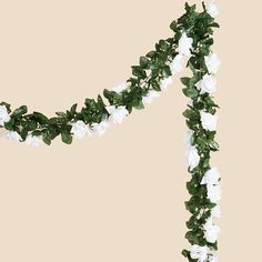 BalsaCircle 24 ft 3D Chain Silk Rose Garlands Wedding Supply - White -- Hurry! Check out this great product (This is an amazon affiliate link. I may earn commission from it)