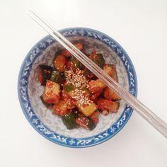 Receta coreana : kimchi de pepino                              …