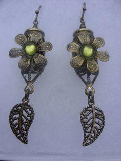 9 mm filigree bullet earrings