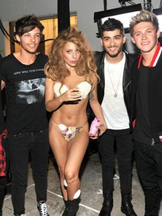 """Lady Gaga Defends One Direction At The MTV VMAs #Refinery29 """"If I did hear what I heard out there, I just want to tell you that you deserve every bit of success that you have, and don't you dare let those people boo you. I put that booing in my own show because I wanted to make a comment about that. I want to leave right now — I don't even want to stay anymore because I don't want to be in a room where people are going to be like that. You deserve a lot."""""""