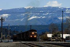 Freight Train - Nevada