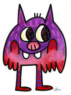 Illustrator: Jon Burgerman Project: New Characters Date: March 2015 Personal Project Ideas, Graffiti Doodles, Creature Drawings, Gcse Art, Posca, Whimsical Art, Urban Art, Doodle Art, Art Lessons