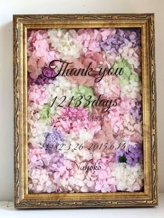 """ウェルカムボード/S【オーダーメイド】 - Dried Flower Arrangement """"Peony""""ピオニー"""