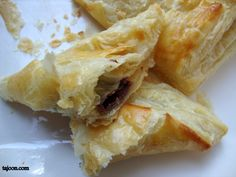 Super Easy Chocolate Turnovers