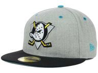 Find the Anaheim Ducks New Era Heather Gray/Black New Era NHL Team Heather 2 Tone 59FIFTY Cap & other NHL Gear at Lids.com. From fashion to fan styles, Lids.com has you covered with exclusive gear from your favorite teams.
