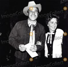 Gene Kelly with his second wife, Jeanne Coyne.