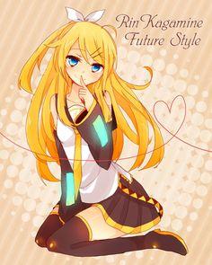 Yuri / GirlxGirl One-shots ♡ - Payback (Part Future!Rin Kagamine x Reader - Wattpad Anime Girlxgirl, Kawaii Anime, Anime Art, Vocaloid Characters, Kagamine Rin And Len, Drawing Base, Friend Pictures, Hatsune Miku, I Love Anime