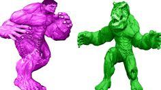 Hulk Vs Dinosaur | Hulk Rhymes | Dinosaur Cartoons For Children | Nursery Rhymes For Children http://youtu.be/fEMhzpgfNQc