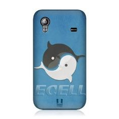 Amazon.com: Ecell - HEAD CASE KAWAII YIN YANG WHALES DESIGN BACK CASE FOR SAMSUNG GALAXY ACE S5830: Cell Phones & Accessories