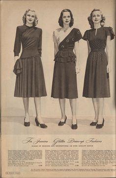 e58e46516928 Cataloging Catalogs: Ward's Fall/Winter 1947-1948, More Dresses! (The  Closet Historian)
