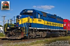 Dakota, Minnesota & Eastern GMD SD40-2 # 6091
