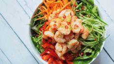 Shrimp Salad with Chili Lime Vinaigrette