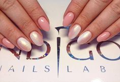 by Mezei Edina, Indigo Magyarország, Indigo Nails Lab - Find more Inspiration at www.indigo-nails.com #Nail #Nailsart #Mani #Nude #wedding