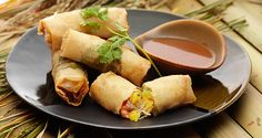 Several flavors come together in this satisfying meaty casserole. Serve with steamed white rice. Del Monte Recipes, Vietnamese Spring Rolls, Sausage Casserole, Filipino Recipes, Fresh Rolls, Bon Appetit, Philippines, Appetizers, Kitchens