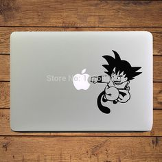 """Aliexpress.com : Buy Young Goku Dragon Ball Anime Cartoon Laptop Sticker for Apple MacBook Decal Macbook 11"""" 13"""" 15"""" Adesivo Pegatina para Notebook from Reliable laptop batteries for hp suppliers on Chuse Sticker HK Co.,Ltd"""