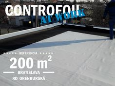 Controfoil at work - SLOVAK FLAT ROOF Flat Roof, Bratislava, Outdoor Decor, Home, Ad Home, Homes, Haus, Houses