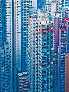 Hong Kong Facades: Photos by Miemo Penttinen