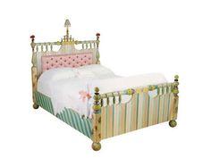 bed Mackenzie Childs Furniture, Princess Bedrooms, Home Bedroom, Bedroom Decor, Painting Tips, My Room, Queen Beds, Paint Furniture, Children
