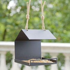 Architectural Bird Feeder. Bauhaus Bird Feeder. Modern Garden decor. Housewarming Gift/Present. Bird Watcher and Bird Lovers Present.