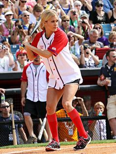 Carrie Underwood at the City of Hope Celebrity Softball Challenge