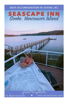 Are you heading to the Sooke region on Vancouver Island? If so, the Seascape Inn located in the Sooke Harbour is a place to stay that is beautiful and memorable.