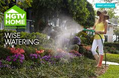 Tips for Wise Watering