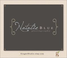 Premade Logo Design watermark included  by GingerStudio on Etsy, $35.00