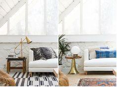 Ideas para dar un cambio de look a tu sofá blanco