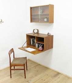 Retro danish teak ps system #floating #bureau drinks cabinet #display cabinet 60s,  View more on the LINK: http://www.zeppy.io/product/gb/2/252339650191/