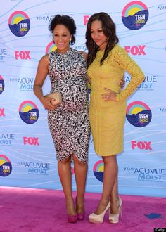 Red Carpet chic!     2012 Teen Choice Awards Red Carpet: Tia And Tamera Mowry Best-Dressed Stars (PHOTOS)