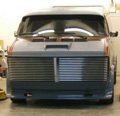 Customised Vans, Custom Vans, Chevy Van, Dodge Van, Gmc Vans, Car Paint Jobs, Old School Vans, Vanz, Day Van