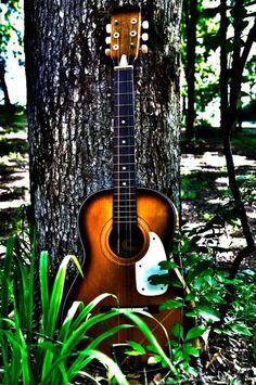 Daddys guitar