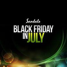 Sandals Resorts Black Friday Sale in July! #Sandals #AllInclusive #Vacation #PromoCode #SandalsResorts