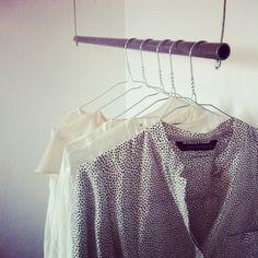 DIY : Klädstång | Decorate me up. @ Spotlife