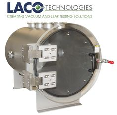 "Here's a custom 18"" OD x 28.75"" Long Horizontal Cylindrical Industrial Vacuum Chamber we designed for a manufacturer of custom medical and automotive production systems. The chamber features several custom vacuum ports including five NW 80's, a NW 100, and a NW 25. Find out more about our vacuum chamber solutions: http://www.lacotech.com/vacuumchambers. #vacuumchamber #automotive #medical #manufacturing #engineering"