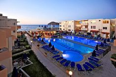 Platanias Crete, Greece: Menia Beach Hotel  Our second home