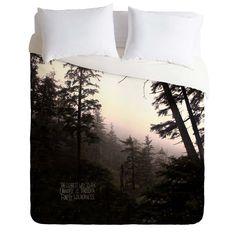 485676e2776e7 Leah Flores Forest Universe Duvet Cover