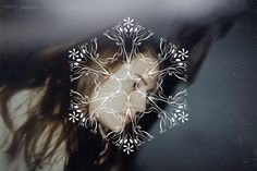 Snow Glyphs by Elena Mirchovska, via Behance