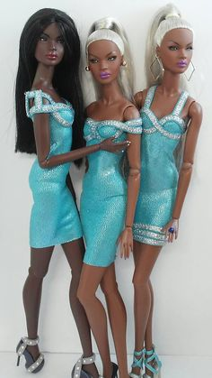 African American Beauty, African American Dolls, African Dolls, Bad Barbie, Barbie Dress, Hello Barbie, Barbie Toys, Diy Barbie Clothes, Doll Clothes