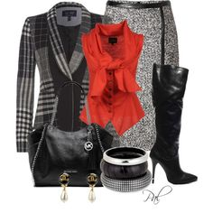 """Skirts and boots"" by pamlcs on Polyvore"