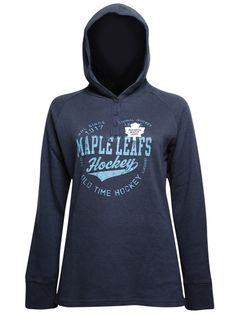 Old Time Hockey Women's Toronto Maple Leafs Henley Sports Apparel, Team Apparel, Nhl Hockey Teams, Toronto Maple Leafs, Montreal Canadiens, Sport Outfits, Fans, Sporty, Leaves