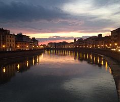 #pontedimezzo #pisa #toscana #arno #fiume #river #bridge #panoramica #view #centrostorico #historycenter #tramonto #sunset #igerspisa #igerstoscana #marzo #winter by ripiero93