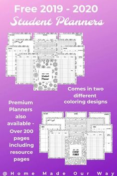 136 Best Organization Printables ❤️ images in 2019 | Home