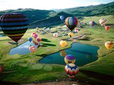 Balloon Festival near Aspen, Colorado