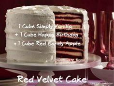 Scentsy Recipe: Red Velvet Cake