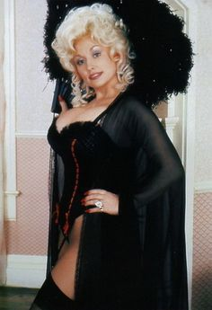 Dolly Parton as Mona Stangley in publicity still for The Best Little Whorehouse in Texas (1982)