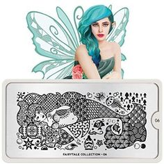 MoYou-London Nail Art Image Stamping Plate Fairytale Collection 06