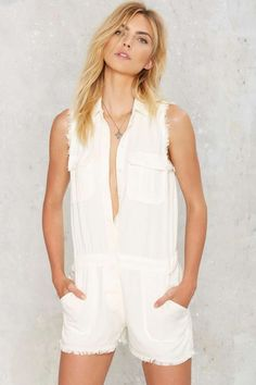 Raw Deal Cargo Romper | Shop Clothes at Nasty Gal!