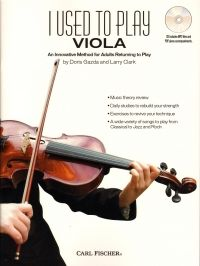 I Used To Play Viola - Book & CD. £15.95